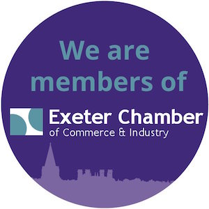We are members of Exeter Chamber of Commerce